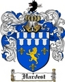 Thumbnail Hardest Family Crest  Hardest Coat of Arms