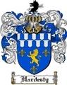 Thumbnail Hardesty Family Crest  Hardesty Coat of Arms