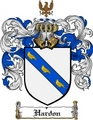 Thumbnail Hardon Family Crest  Hardon Coat of Arms