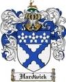 Thumbnail Hardwick Family Crest Hardwick Coat of Arms Digital Download