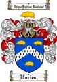 Thumbnail Haries Family Crest  Haries Coat of Arms