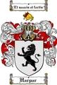 Thumbnail Harpar Family Crest  Harpar Coat of Arms