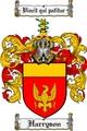 Thumbnail Harryson Family Crest  Harryson Coat of Arms