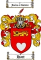 Thumbnail Hart Family Crest / Hart Coat of Arms