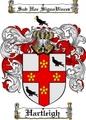 Thumbnail Hartleigh Family Crest  Hartleigh Coat of Arms