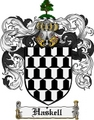 Thumbnail Haskell Family Crest Haskell Coat of Arms Digital Download