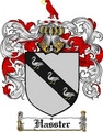 Thumbnail Hasster Family Crest  Hasster Coat of Arms