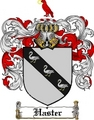 Thumbnail Haster Family Crest  Haster Coat of Arms
