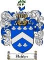 Thumbnail Hatcher Family Crest  Hatcher Coat of Arms