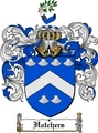 Thumbnail Hatchers Family Crest  Hatchers Coat of Arms