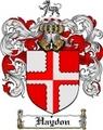Thumbnail Haydon Family Crest  Haydon Coat of Arms
