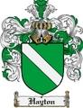 Thumbnail Hayton Family Crest Hayton Coat of Arms Digital Download