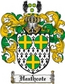 Thumbnail Heathcote Family Crest Heathcote Coat of Arms Digital Download
