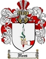Thumbnail Hees Family Crest  Hees Coat of Arms