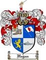 Thumbnail Hegan Family Crest  Hegan Coat of Arms