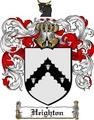 Thumbnail Heighton Family Crest  Heighton Coat of Arms