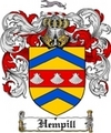 Thumbnail Hempill Family Crest  Hempill Coat of Arms