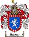 Thumbnail Hendelie Family Crest Hendelie Coat of Arms Digital Download