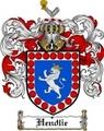 Thumbnail Hendlie Family Crest  Hendlie Coat of Arms