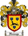 Thumbnail Heneage Family Crest Heneage Coat of Arms Digital Download