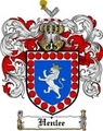 Thumbnail Henlee Family Crest  Henlee Coat of Arms