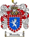 Thumbnail Hennelly Family Crest Hennelly Coat of Arms Digital Download