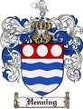 Thumbnail Henning Family Crest Henning Coat of Arms Digital Download