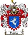 Thumbnail Hentlee Family Crest Hentlee Coat of Arms Digital Download