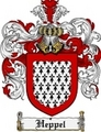 Thumbnail Heppel Family Crest Heppel Coat of Arms Digital Download