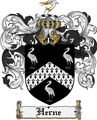 Thumbnail Herne Family Crest Herne Coat of Arms Digital Download