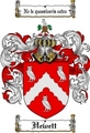 Thumbnail Hewett Family Crest  Hewett Coat of Arms
