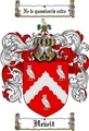 Thumbnail Hewit Family Crest  Hewit Coat of Arms