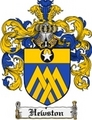 Thumbnail Hewston Family Crest Hewston Coat of Arms Digital Download