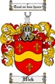 Thumbnail Hick Family Crest  Hick Coat of Arms