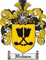 Thumbnail Hickson Family Crest Hickson Coat of Arms Digital Download