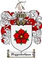 Thumbnail Higginbotham Family Crest  Higginbotham Coat of Arms