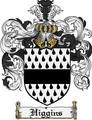 Thumbnail Higgins Family Crest Higgins Coat of Arms Digital Download