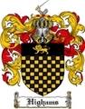Thumbnail Highams Family Crest Highams Coat of Arms Digital Download