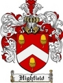 Thumbnail Highfield Family Crest Highfield Coat of Arms Digital Download