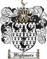 Thumbnail Highmore Family Crest Highmore Coat of Arms Digital Download