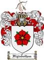 Thumbnail Higinbothem Family Crest  Higinbothem Coat of Arms