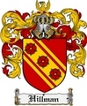 Thumbnail Hillman Family Crest Hillman Coat of Arms Digital Download