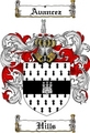 Thumbnail Hills Family Crest  Hills Coat of Arms