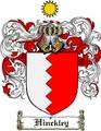 Thumbnail Hinckley Family Crest  Hinckley Coat of Arms