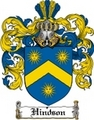 Thumbnail Hindson Family Crest  Hindson Coat of Arms