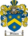 Thumbnail Hinson Family Crest  Hinson Coat of Arms