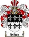 Thumbnail Hinton Family Crest  Hinton Coat of Arms