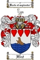 Thumbnail Hird Family Crest  Hird Coat of Arms