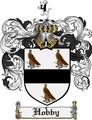 Thumbnail Hobby Family Crest Hobby Coat of Arms Digital Download