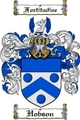 Thumbnail Hobson Family Crest  Hobson Coat of Arms